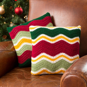 Holiday Chevron Pillow Pattern