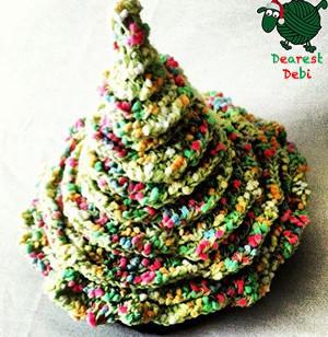Crochet Christmas Hats Adults.Christmas Tree Hat Allfreecrochet Com