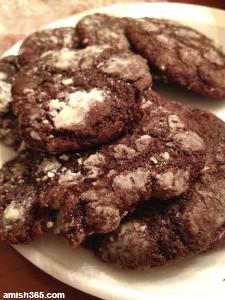 4-Step Amish Crinkle Cookies