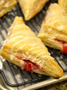 Homemade Arby's Cherry Turnovers