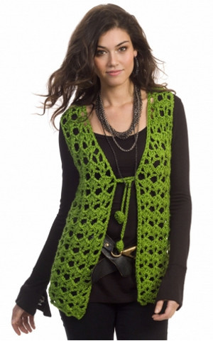 17a414e9c ... these free crochet patterns. Holiday Hippie Vest Pattern