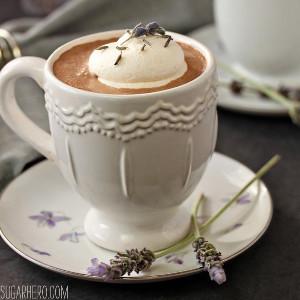 Lavender Hot Chocolate Recipe | AllFreeDIYWeddings.com