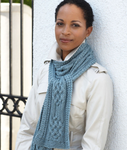 Knitted Knotwork Scarf