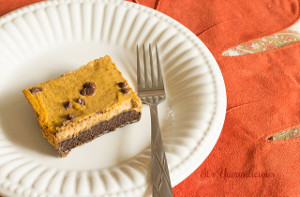 Chocolate Pumpkin Pie Bars