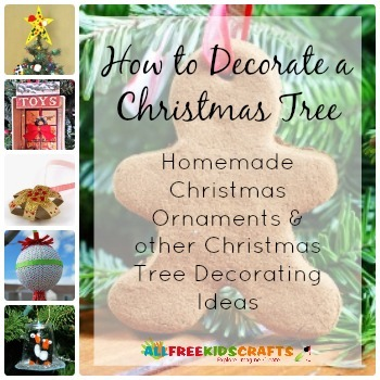 18 homemade christmas ornaments and other christmas tree How to decorate a christmas tree with large ornaments