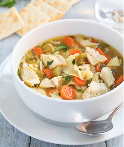 All Day Slow Cooker Chicken Noodle Soup