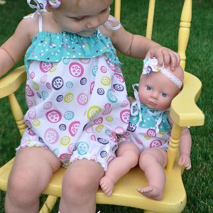 Romper Doll Clothes Pattern