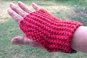 Quick and Easy Fingerless Gloves