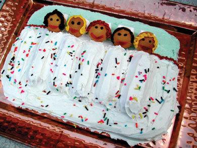 Slumber Party Cake | MrFood.com
