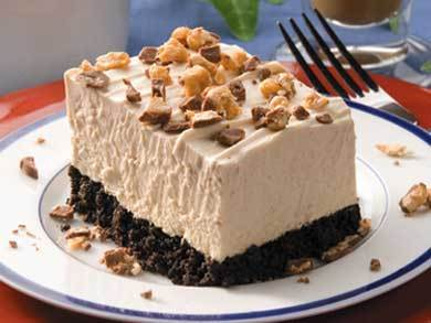 Frozen peanut butter squares for Desserts to make with peanut butter