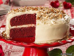 Prime Velvety Red Velvet Cake Mrfood Com Download Free Architecture Designs Sospemadebymaigaardcom
