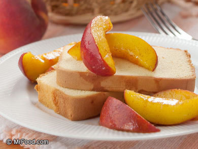 Easy Peach Topping