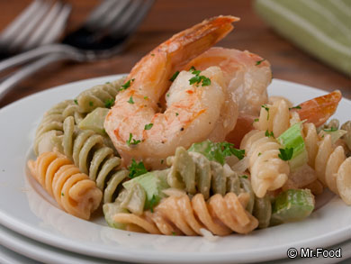 Shrimp and Pasta Toss