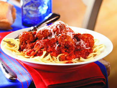 Red Sauce and Meatballs