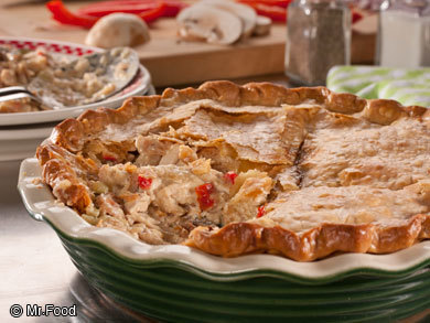Summer Chicken Pot Pie | MrFood.com