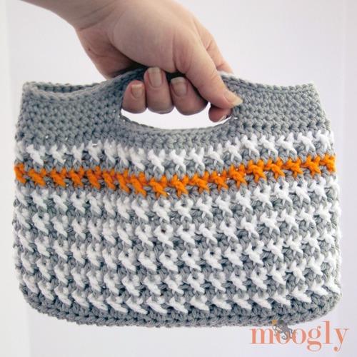 Busy Girls Crochet Handbag Allfreecrochetcom