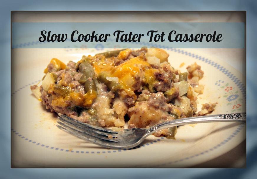 Ground Beef Tater Tot Casserole Allfreeslowcookerrecipes Com