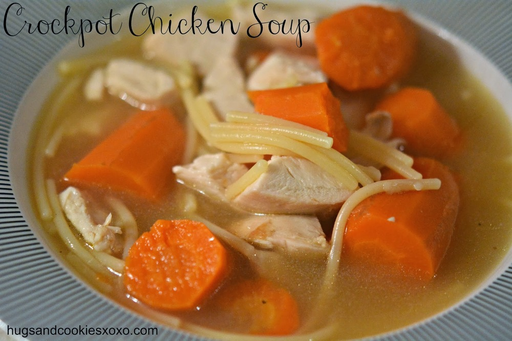 rotisserie chicken noodle soup  allfreeslowcookerrecipes