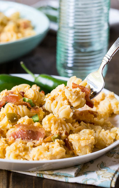 Southern Spicy Bacon Macaroni