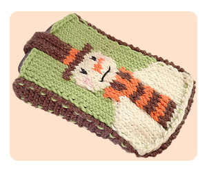 Snuggly Snowman Phone Cover