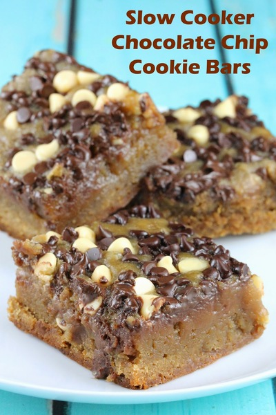 Perfectly Rich Chocolate Chip Cookie Bars