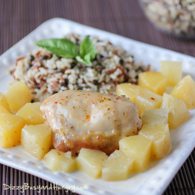 4-Ingredient Hawaiian Pineapple Chicken
