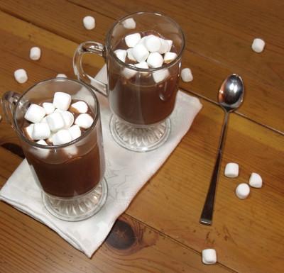Indulgent Dark Hot Chocolate