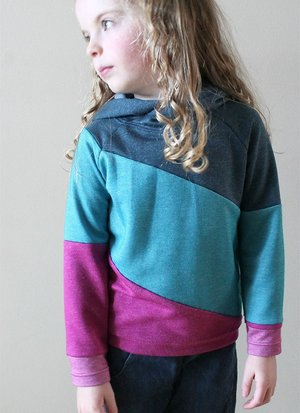 Cozy Color Block Sweater