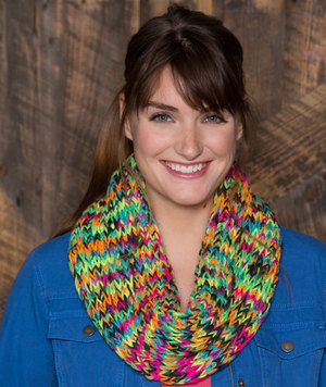 Chunky Colorful Cowl