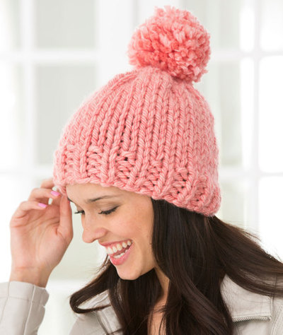Easy Knit Hat Pattern With Circular Needles : 66 Knit Hat Patterns for Winter AllFreeKnitting.com