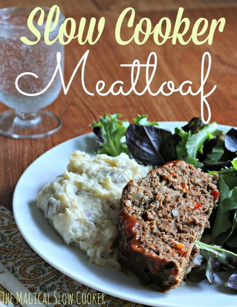 classic slow cooker meatloaf master