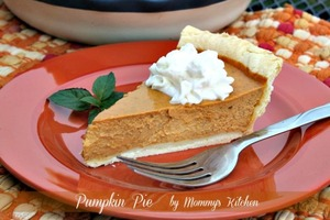 Mama's Pumpkin Pie