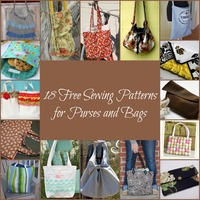 18 Free Sewing Patterns for Purses and Bags