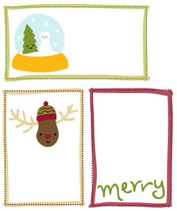 Adorable Printable Christmas Gift Tags IMR
