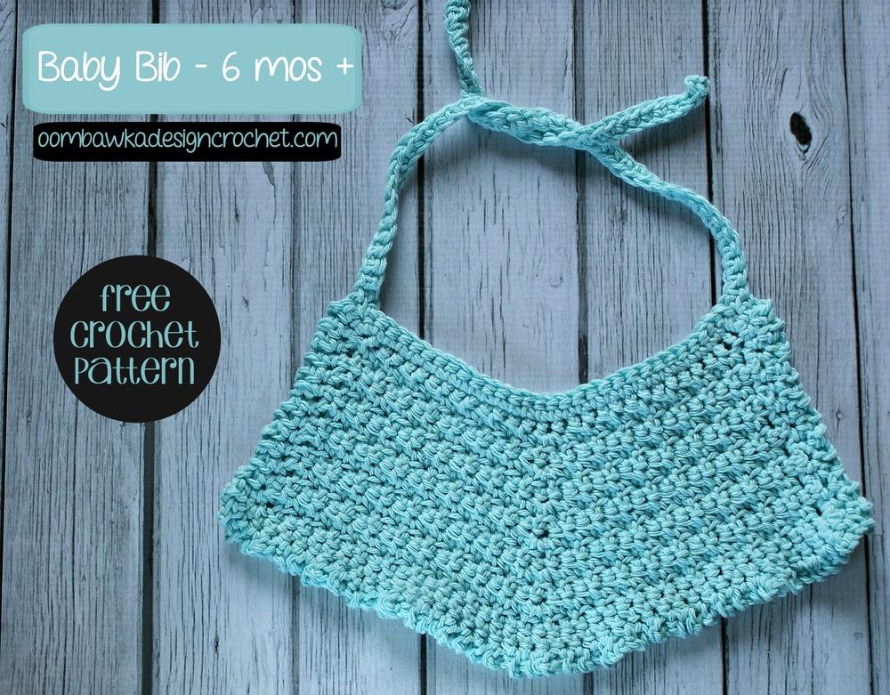 Cutie Patooty Crochet Baby Bib AllFreeCrochet.com