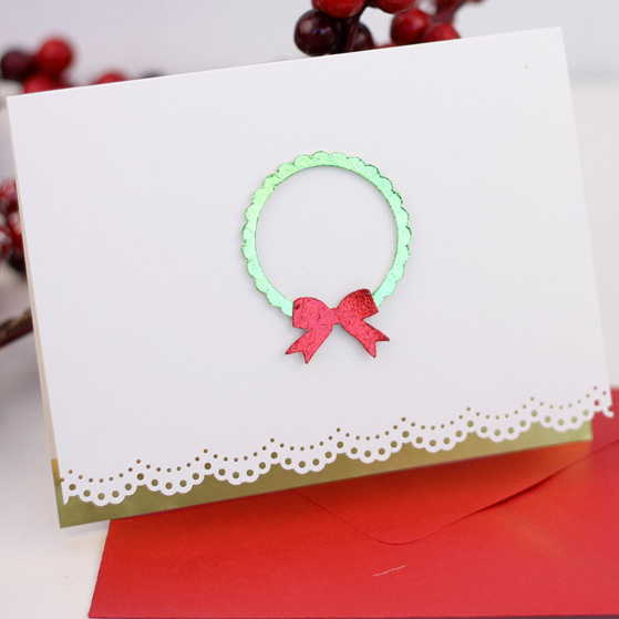 Free Christmas Card Making Ideas Part - 17: Easy Christmas Card Craft