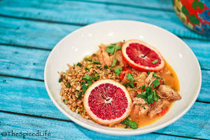 Sweet Citrus Braised Chicken