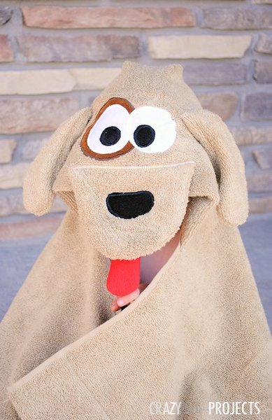 Woof Hooded Towel Pattern Allfreesewing Com
