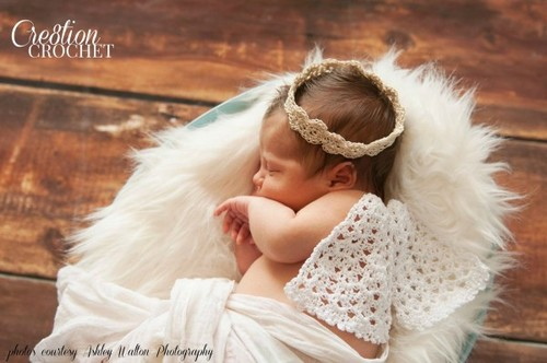Little Angel Wings and Halo Photo Props