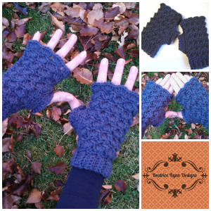 Playful Fingerless Gloves