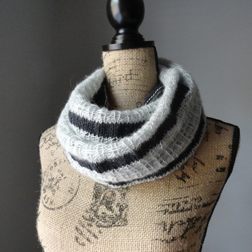 Striped Affair Infinity Scarf IR