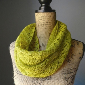 Spring Lace Infinity Scarf