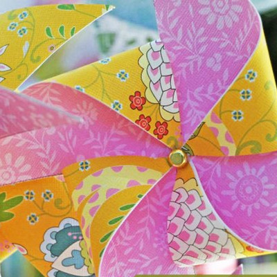 Windy Weather Paper Pinwheel IMR