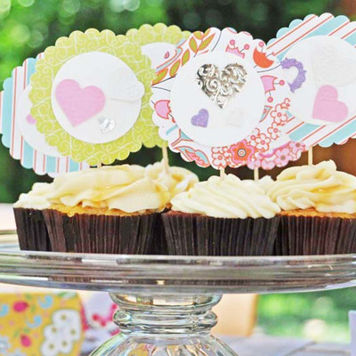 DIY Cute Cupcake Toppers IMR