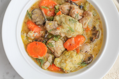 Ultimate Sunday Supper Chicken and Dumplings