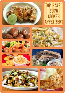 12 Top Rated Appetizer Recipes For Your Slow Cooker + Copycat P.F. Chang's Lettuce Wraps