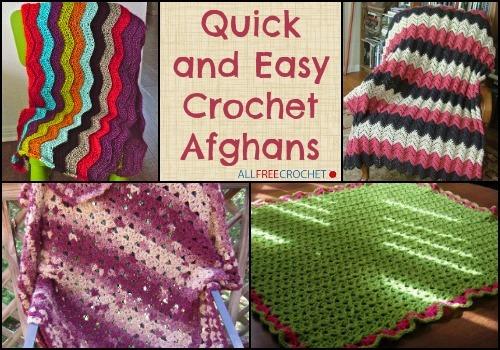 36 Quick And Easy Crochet Afghans Bonus Video