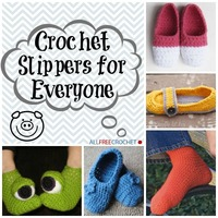 38 Free Crochet Slippers for Everyone
