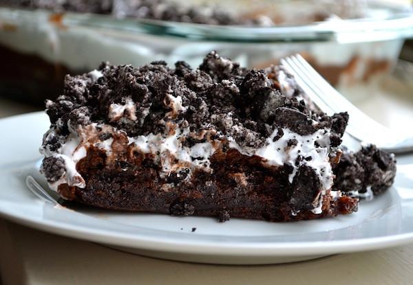 tantalizing 4 ingredient chocolate lasagna