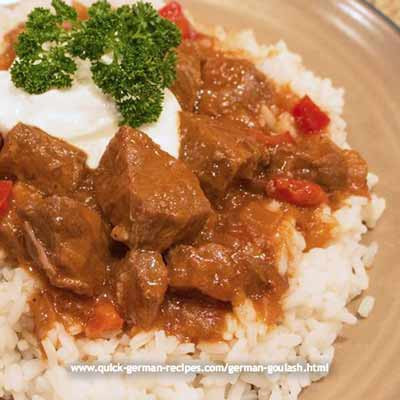 Annas Slow Cooker German Goulash